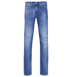 Edwin ED-55 12oz CS Braxton Blue Denim Regular Tapered Birger Wash Jeans