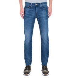 Edwin ED-80 CS Braxton Blue Denim Birger Wash Slim Tapered Jeans