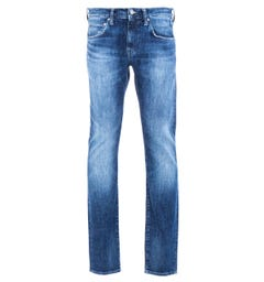 Edwin ED-55 Regular-Tapered 12.8 Oz Reoki Wash Yuuki Blue Denim Jeans