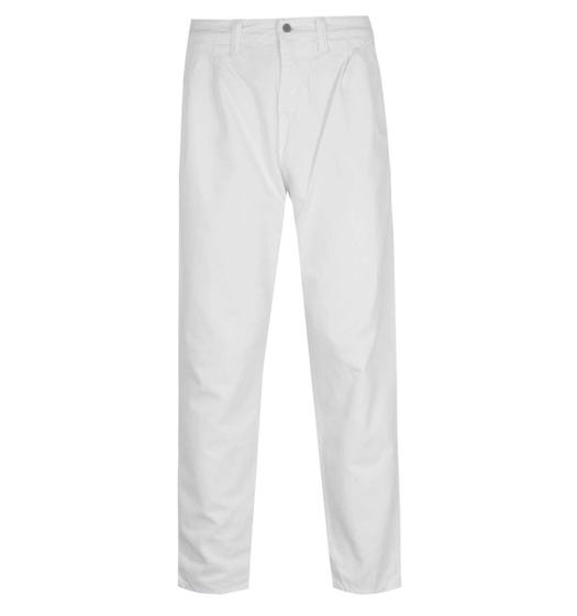 Edwin Blade Denim White Garment Dyed Balder Pants