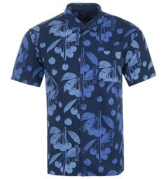 Edwin Coast Short Sleeve Shirt - Indigo