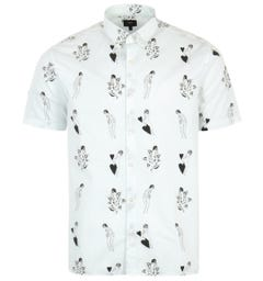 Edwin Nimes Short Sleeve Shirt - White