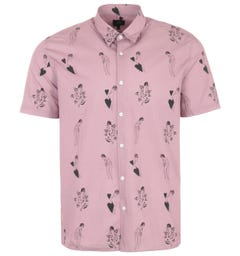 Edwin Nimes Short Sleeve Shirt - Woodrose
