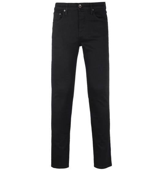 Lyle & Scott Jet Black Slim Fit Jeans