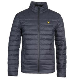 Lyle & Scott Lightweight Black Quilted Jacket