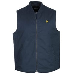 Lyle & Scott Wadded Gilet - Navy