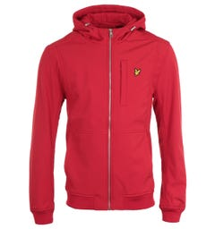 Lyle & Scott Chilli Pepper Red Softshell Jacket