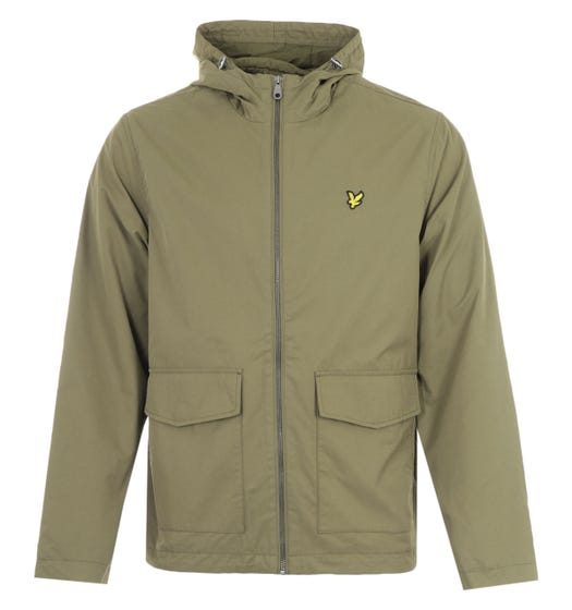 Lyle & Scott Double Pocket Jacket - Lichen Green