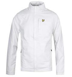 Lyle & Scott Lightweight Funnel Neck Jacket - Glacier Grey