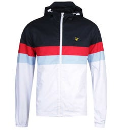 Lyle & Scott Contrast Yoke Dark Navy & White Jacket