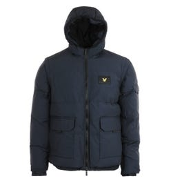 Lyle & Scott Dark Navy 2-In-1 Ripstop Puffer Jacket