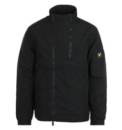 Lyle & Scott Jet Black Double Zip Jacket