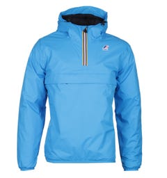 K-Way Le Vrai 3.0 Leon Padded Aqua Blue Jacket