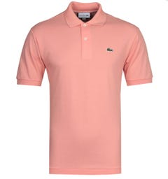 Lacoste L1212 MC Homme Pink Polo Shirt