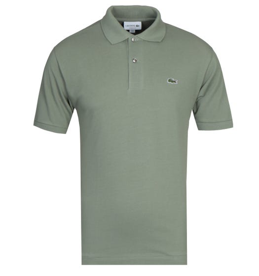 Lacoste Olive MC Homme Polo Shirt