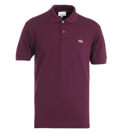 Lacoste Classic Fit Aubergine Polo Shirt