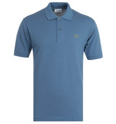 Lacoste Classic Fit Blue Polo Shirt