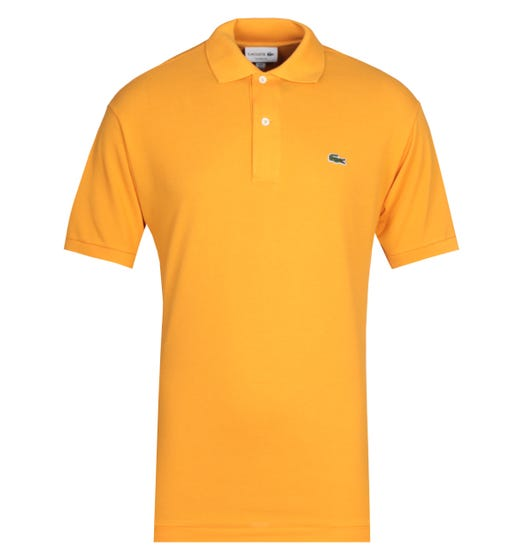 Lacoste Orange MC Homme Polo Shirt