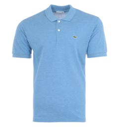 Lacoste Classic Fit Polo Shirt - Marled Blue
