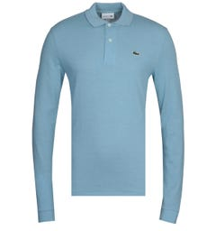 Lacoste Light Blue MC Homme Long Sleeve Polo Shirt