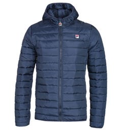 Fila Navy Quilted Jacket