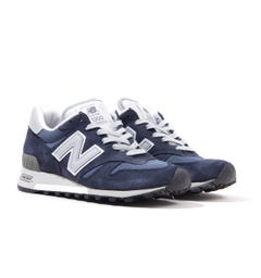 New Balance 1300 Made in the USA Suede Trainers - Navy