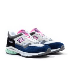 New Balance 1500.9 Made in England Grey & Navy Suede Trainers