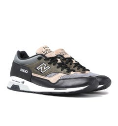 New Balance Made in England M1500 Brown With Khaki Suede Trainers