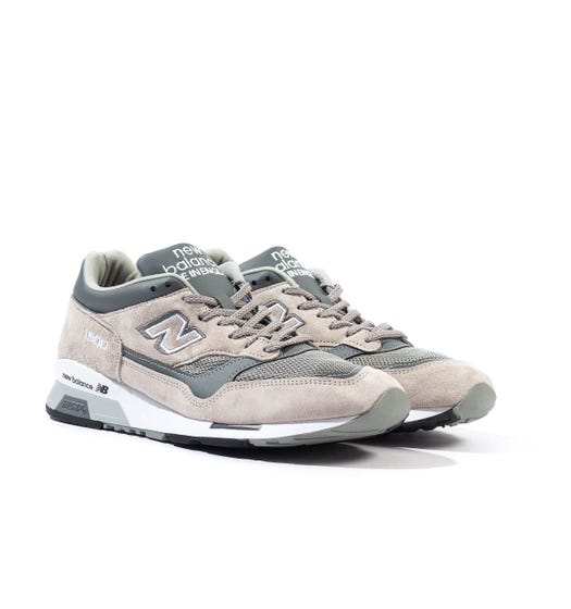New Balance Made in England 1500 Grey Two Tone Suede Trainers