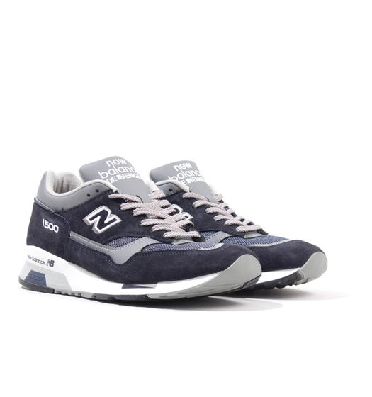 New Balance 1500 Made in England Suede Trainers - Navy & Grey