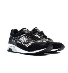 New Balance Made in England 1500 Black Zebra Print Suede Trainers