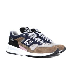 New Balance 1530 Made in England Grey, Khaki & Navy Suede Trainers