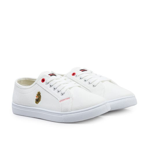 Luke 1977 Perupul Vulcanised White Trainers