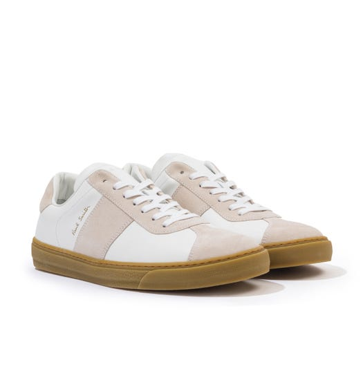 PS Paul Smith Levon Leather Trainers - White