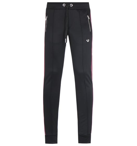 True Religion Metal Horseshoe Black Sweatpants
