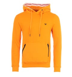 True Religion Hooded Sweatshirt - Orange