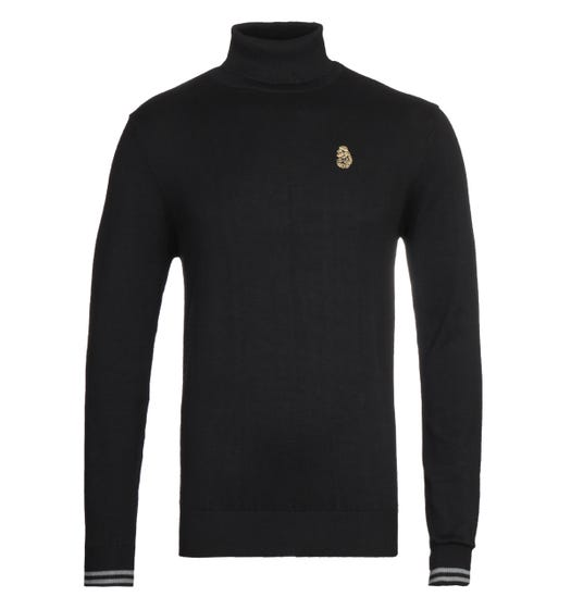 Luke 1977 Black Turtles Neck Sweater