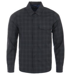 PS Paul Smith Lightweight Check Casual Jacket - Black