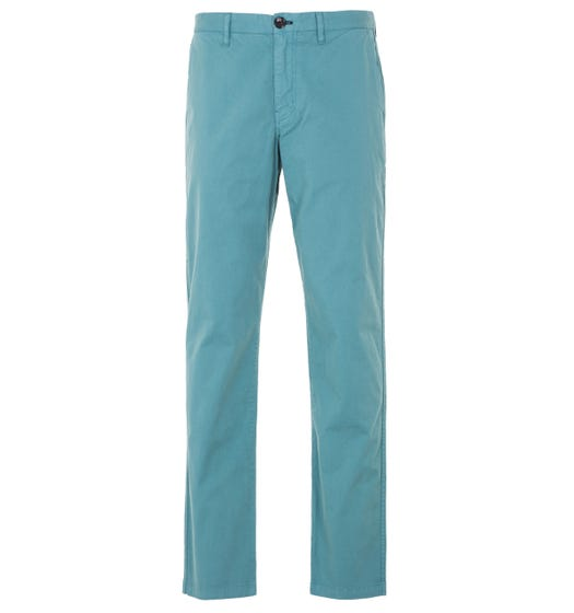 PS Paul Smith Stretch Cotton Tapered Fit Chino - Green