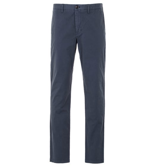 PS Paul Smith Stretch Cotton Tapered Fit Chino - Blue