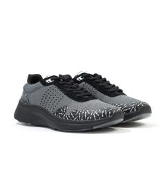 PS Paul Smith Fin Knitted Mesh Trainers - Grey