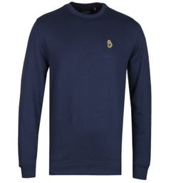 Luke 1977 The Runner Navy Crew Neck Sweatshirt