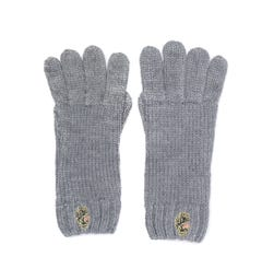 Luke 1977 Tarrant Grey Logo Gloves