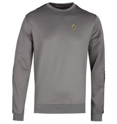 Luke 1977 Trico Mid Grey Sweatshirt
