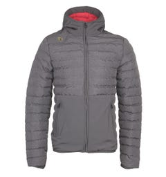 LUKE 1977 Grey Bubbla Puffer Jacket