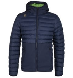 LUKE 1977 Navy Bubbla Puffer Jacket