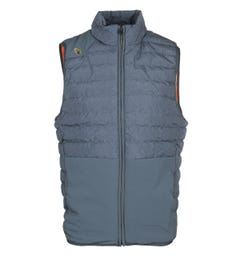 Luke 1977 Mr Bubbla Blue Puffer Gilet