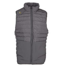 Luke 1977 Mr Bubbla Grey Puffer Gilet
