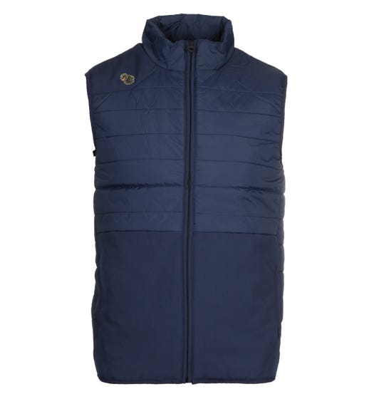 Luke 1977 Mr Bubbla Navy Puffer Gilet