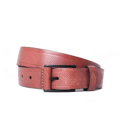 Luke 1977 Butler Perforated Brown Belt